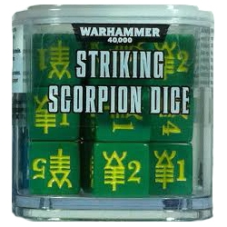 Warhammer 40000: Striking Scorpion Dice