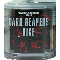 Warhammer 40000: Dark Reapers Dice