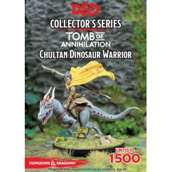 D&D Tomb On Annhilation Limited Edition Chulten Dinosaur Miniature
