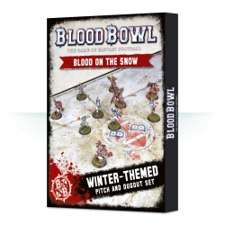 Blood Bowl: Blood On The Snow With Dugouts