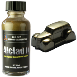 Alclad II Metallic Lacquers - Mirrored Gold for Lexan