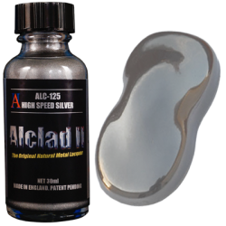 Alclad II Metallic Lacquers - High Speed Silver
