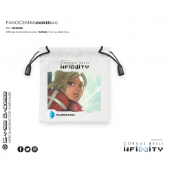 Infinity the Game Faction Token Bags - Panoceania