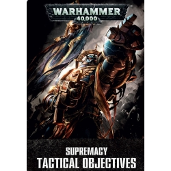 Warhammer 40K Supremacy Tactical Objectives - English