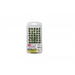 4mm Self Adhesive Tufts - 100 Tufts - Assorted Grass