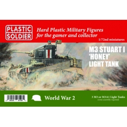 1/72nd Allied Stuart 1 Honey + M3 Tank