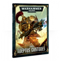Codex: Adeptus Custodes Hardback - English