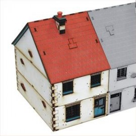 28mm Pre-painted Left Side Semi Detached type 1