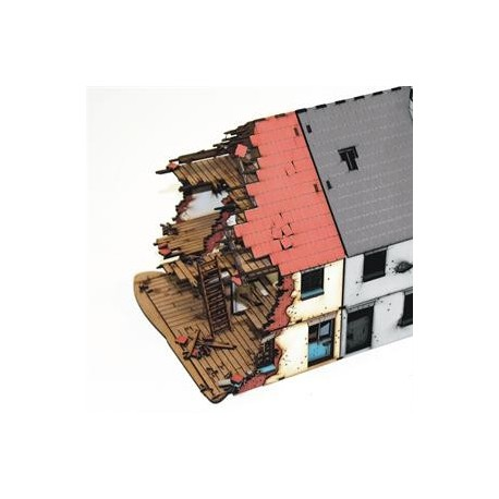 28mm Pre-painted Left Side Semi Detached type 1 (Damaged)