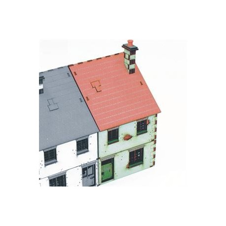 28mm Pre-painted Right Side Semi Detached type 1
