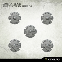 Sons of Thor: Wolf Pattern Shields