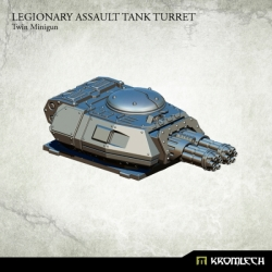 Legionary Assault Tank Turret: Twin Minigun