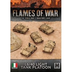 Italian Light Tank Platoon