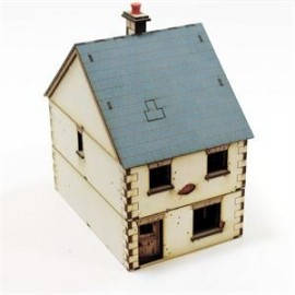 28mm Pre-painted Detached House type 1