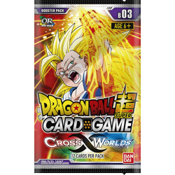 Dragonball Super Card Game: Cross Worlds Booster B03