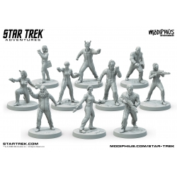 Star Trek Adventures: The Next Generation Away Team 32mm Miniatures