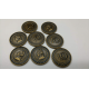 Clans of Caledonia: Set of Metal Coins