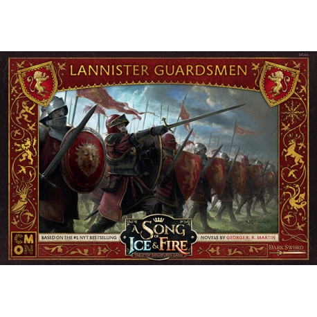 A Song Of Ice and Fire: Lannister Guardsmen