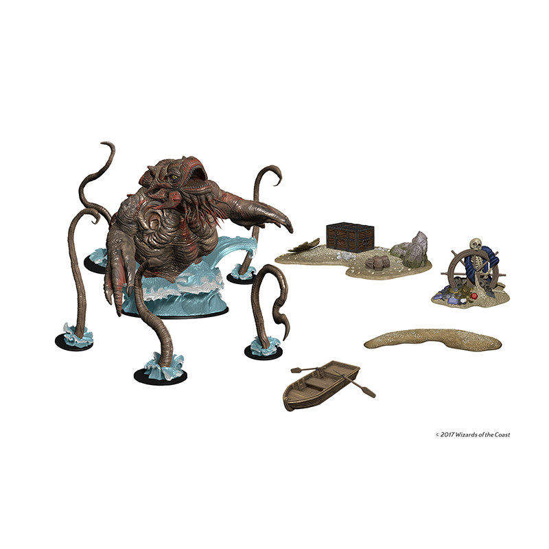 D&D Icons of the Realms: Monster Menagerie 3 - Kraken and