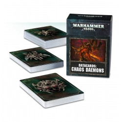 Datacards: Chaos Daemons - German