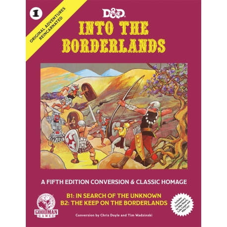 Original Adventures Reincarnated No. 1: Into the Borderlands