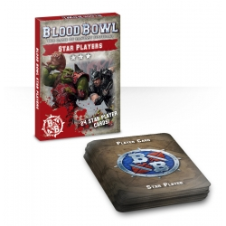 Blood Bowl: Star Players Card Deck - English