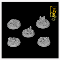 Arid Planet Round Bases 40mm (3)