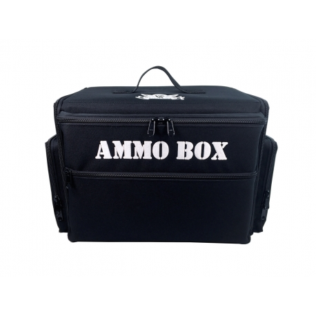 Ammo Box Bag with Magna Rack Load Out (Black)