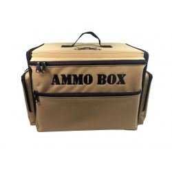 Ammo Box Bag with Magna Rack Load Out (Khaki)