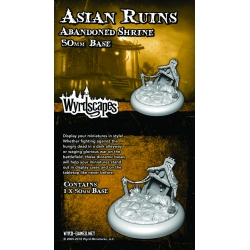 Wyrdscapes Asian Ruins 50mm Base II - Ruins