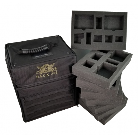 P.A.C.K. 352 Molle Shadespire Load Out (Black)