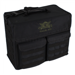 P.A.C.K. 432 Molle Horizontal with Magna Rack Load Out (Black)