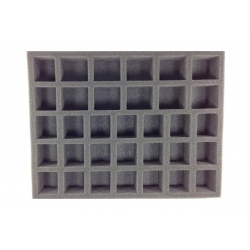 21 Large Standing 12 X-Large Standing Troop Foam Tray (BFL) 15.5W x 12L x 2H