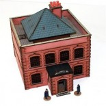 Pre-painted Victorian Police Station