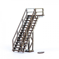 Industrial Staircase 01
