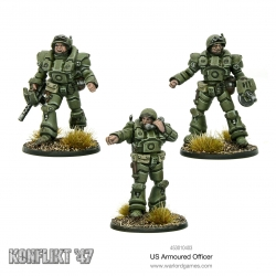 US Armoured Officers