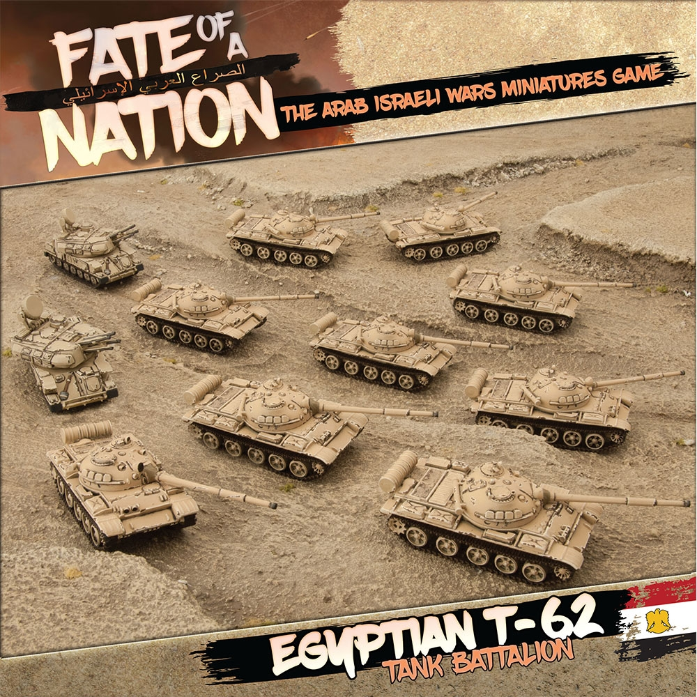 T-62 Tank Battalion Army Box - Fate of a Nation - Team Yankee