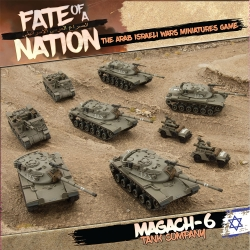 Magach-6 Tank Company Army Box