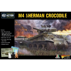 Sherman Crocodile Flamethrower Tank