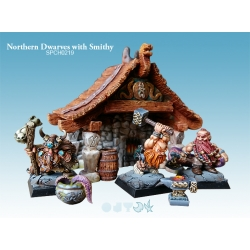 Northern Dwarves with Smithy