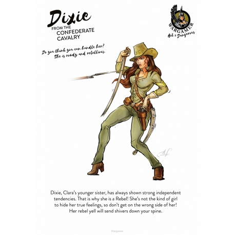 Dixie from the Confederate Cavalry