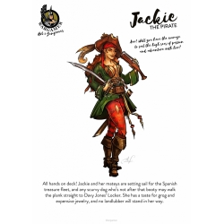 Jackie, the Pirate
