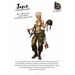 Jane, the US Paratrooper