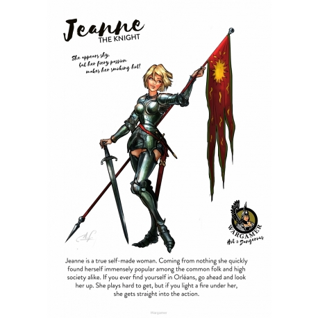 Jeanne, the Knight