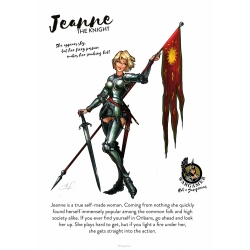 Jeanne, the Knight - 54mm