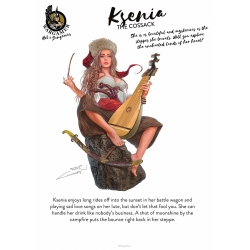 Ksenia, the Cossack