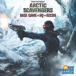 Arctic Scavengers: Base Game with HQ and Recon Exp