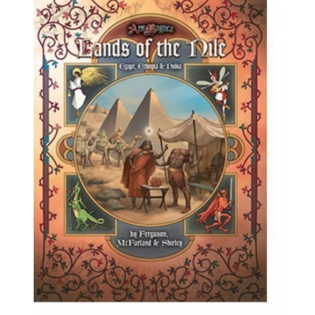 Lands of the Nile: Ars Magica 5th Edition Sourcebook