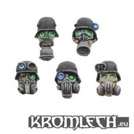 Iron Reich Troopers in Gasmasks