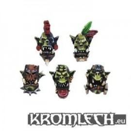 Savage Orcs Heads